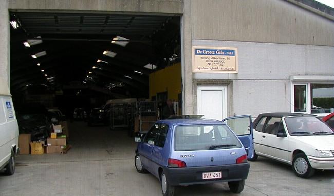 Peugeot auto afbraak garage de groote oostkamp lieverstede for Garage peugeot avon 77